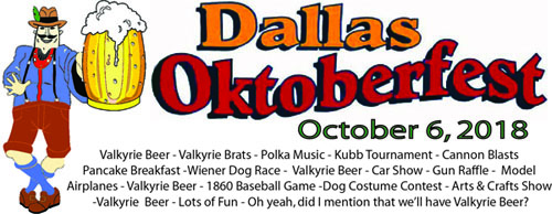 Valkyrie Brewing Company Oktoberfest - Fruit yard car show
